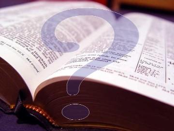 Bible-Questionmark