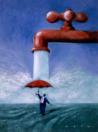 umbrella faucet